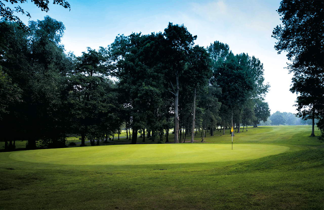 Redditch Golf Club Green Picture