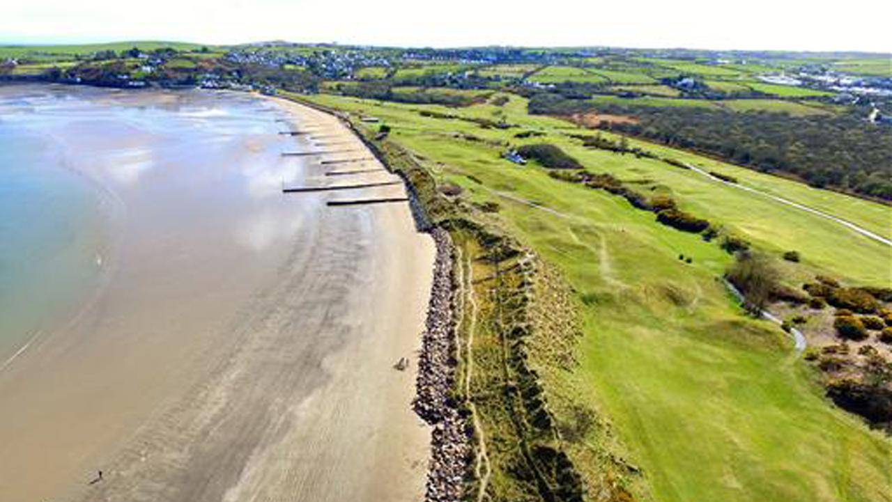 Abersoch Golf Club sea line