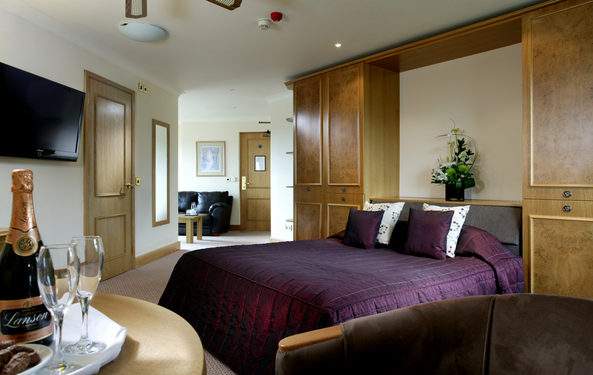 Abbey hotel room