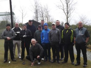 Dowty golf society group picture