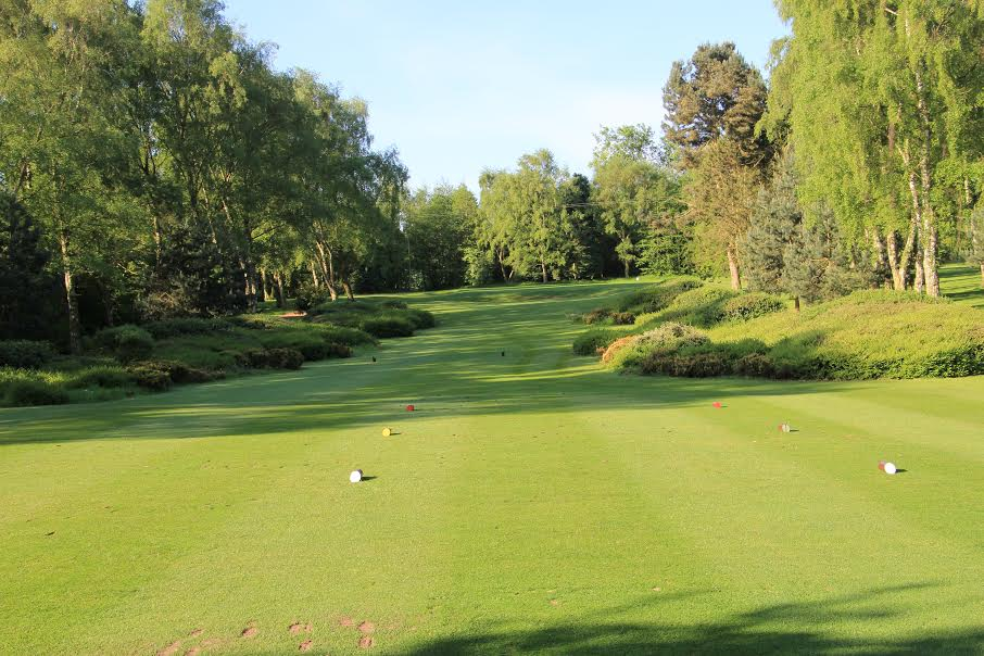 Druids Heath, par3 14th hole