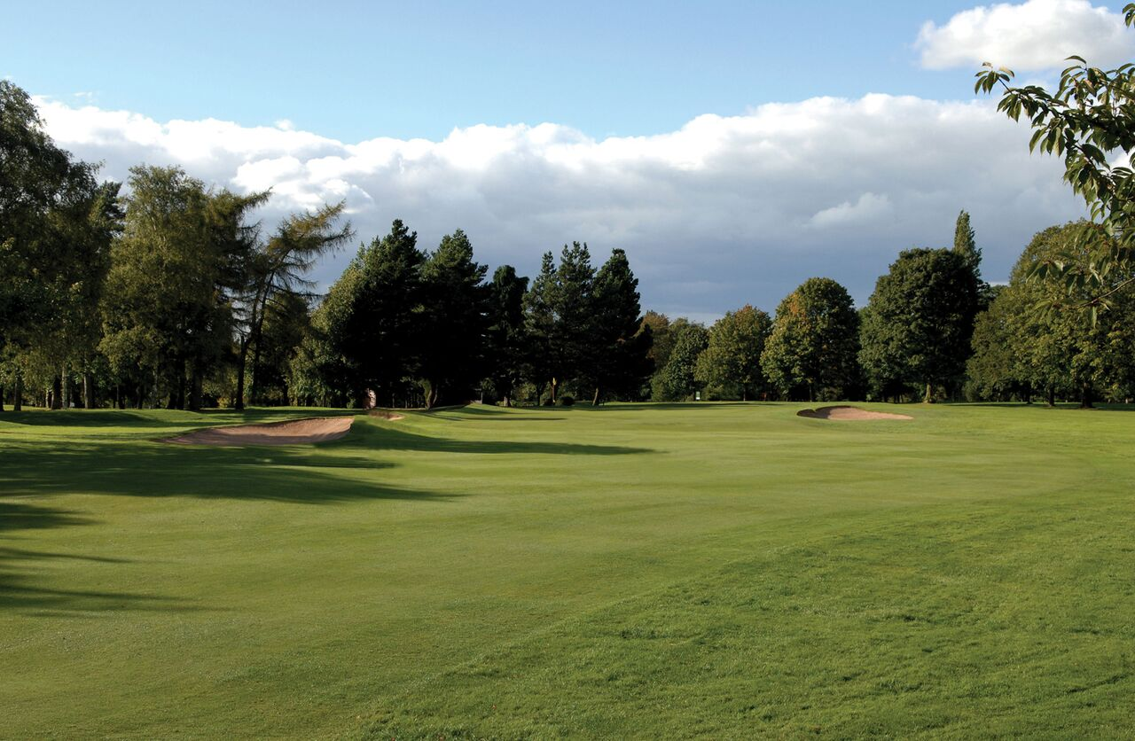 South Staffordshire Golf Club Shot