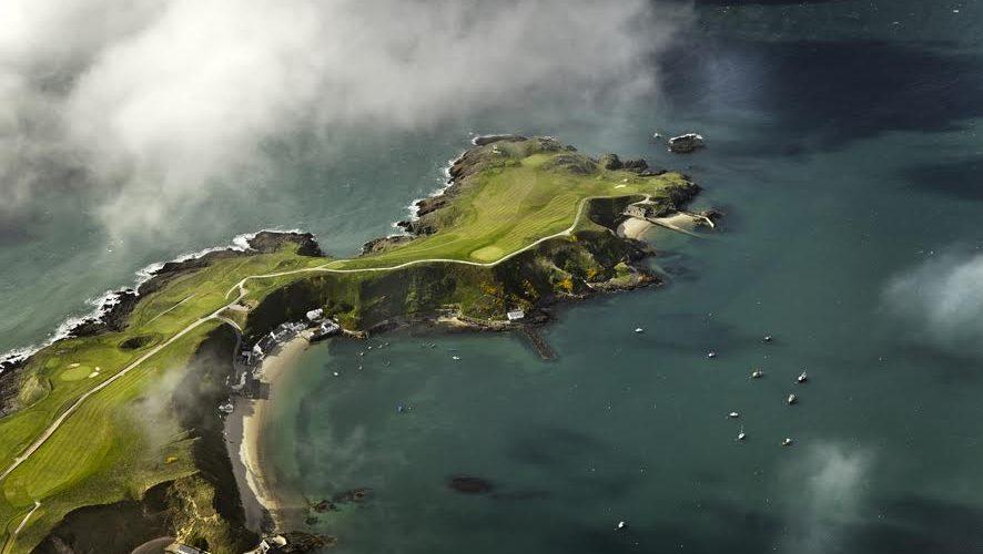 Nefyn Golf Club - Aerial View