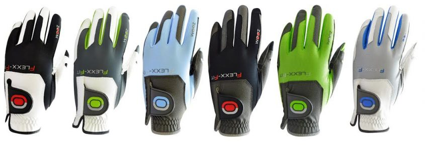 Zoom golf gloves