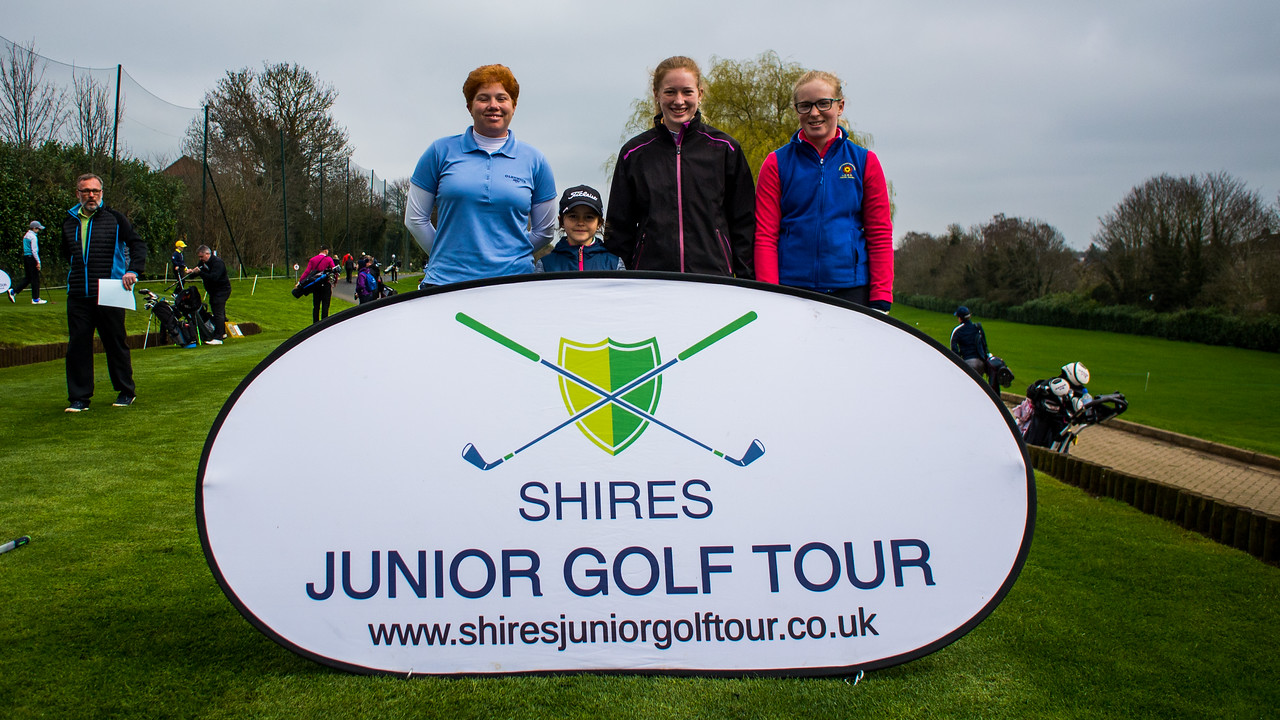 Felicity Johnson, Shires Junior Golf Tour
