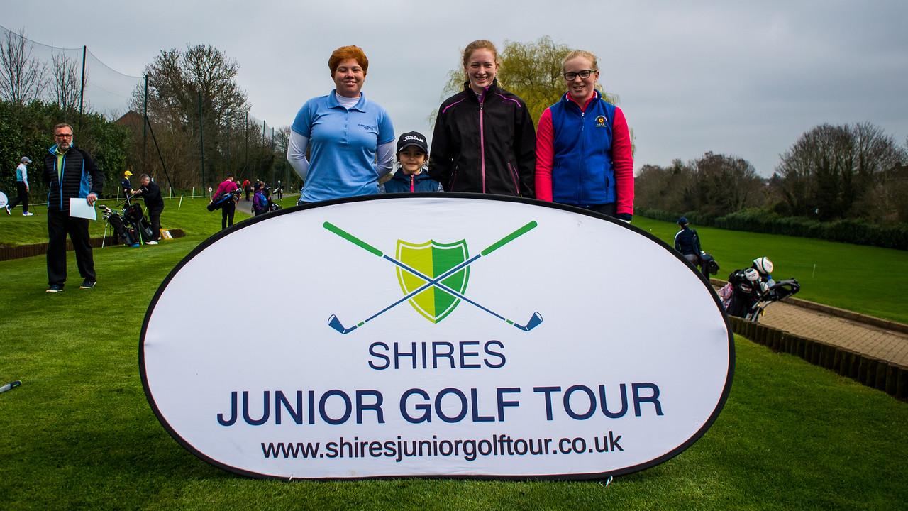 Felicity Johnson, Shires Junior Golf Tour