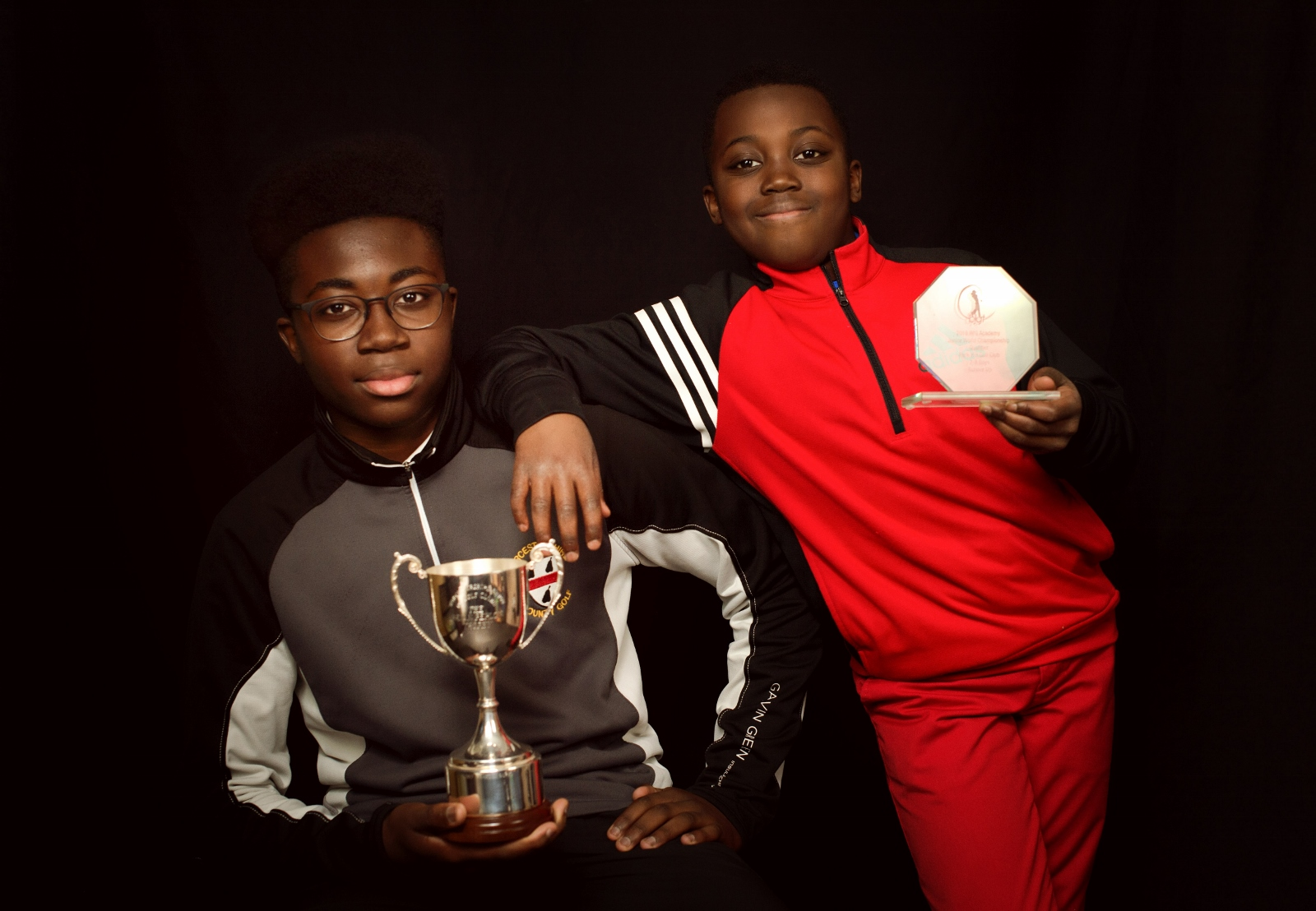 l-r Brandon and Hayden Sarfo - photo by Aniko Towers