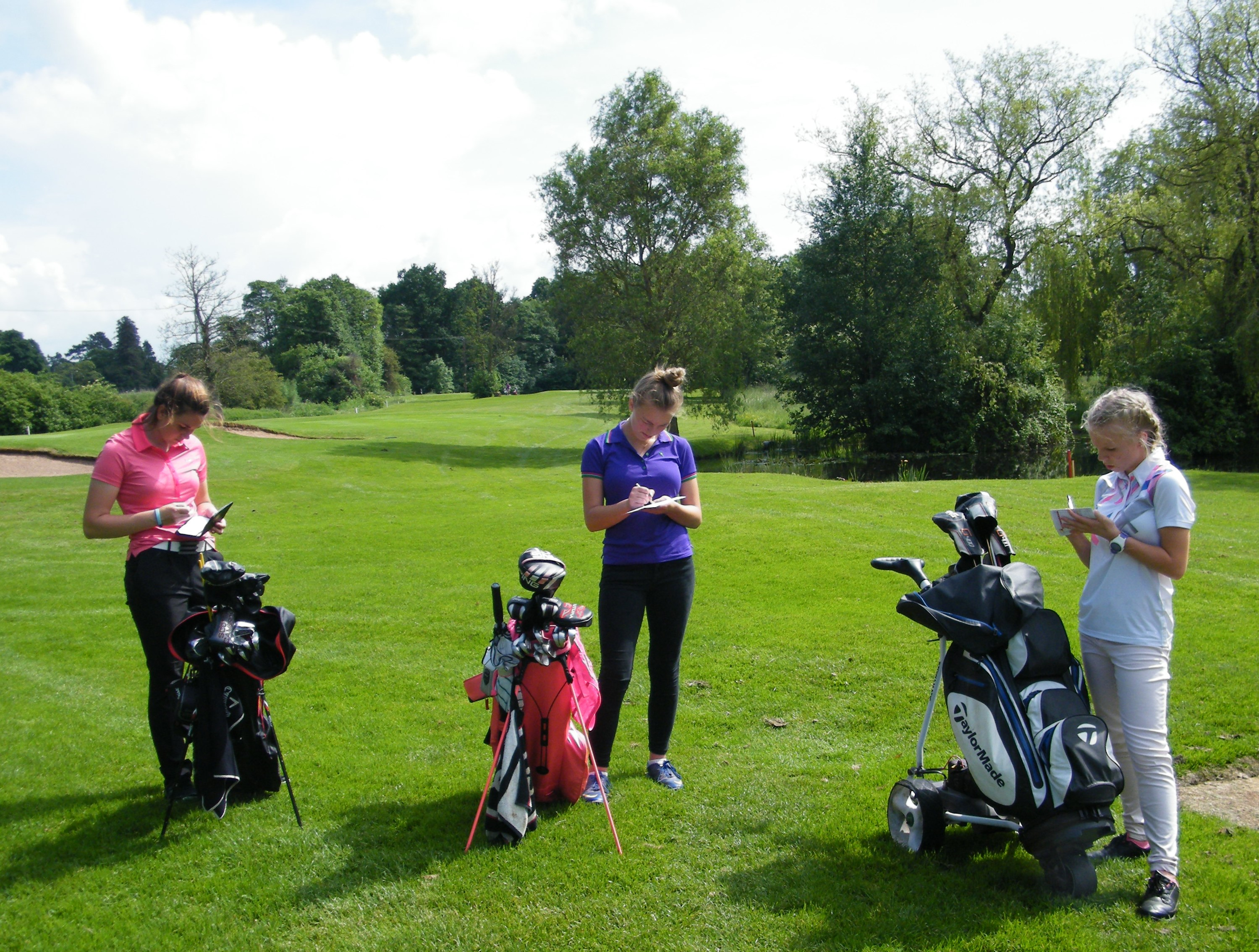 DGC Open Girls Marking Cards